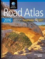 Rand McNally Road Atlas 2016 EasyFinder®