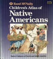 Rand McNally Children's Atlas Of Native Americans
