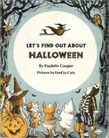 Let's Find Out About Halloween