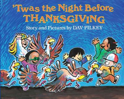 Cover image for 'Twas the Night Before Thanksgiving