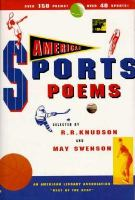 American Sports Poems
