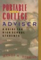 The Portable College Adviser