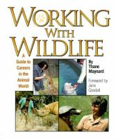 Working With Wildlife