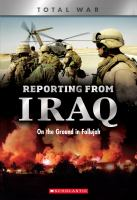 Reporting From Iraq