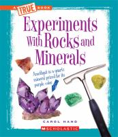 Experiments With Rocks and Minerals