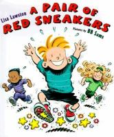 A Pair of Red Sneakers