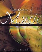 Foundations of Music
