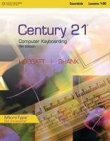 Century 21 Computer Keyboarding Essentials, Lessons 1-80