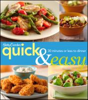 Betty Crocker Quick & Easy Cookbook