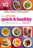 The Ultimate Quick & Healthy Book