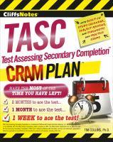 CliffsNotes TASC Cram Plan