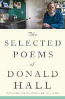 The Selected Poems of Donald Hall