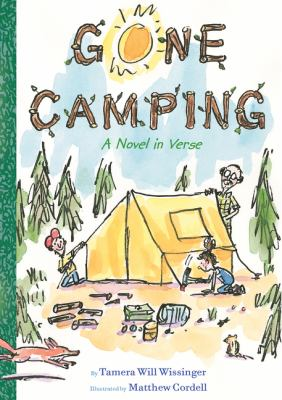 Gone Camping:  A Novel in Verse book jacket
