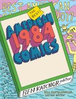 The Best American Comics 2017