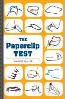 The Paperclip Test