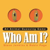 Who Am I? : An Animal Guessing Game