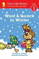 Woof and Quack in Winter (reader)