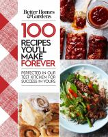 100 Recipes You'll Make Forever