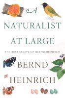 A Naturalist at Large
