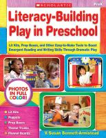 Literacy-building in Preschool