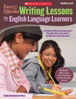 Easy & Effective Writing Lessons for English Language Learners