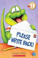 Please Write Back!