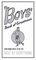 The Boys' Book of Greatness