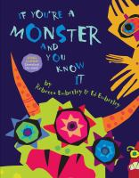 if you're a monster and you know it Book Cover