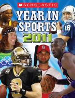 Scholastic Year in Sports 2011