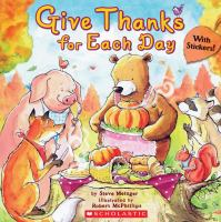 Give Thanks for Each Day