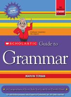 Scholastic Guide of Grammar