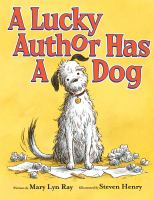 A Lucky Author Has A Dog