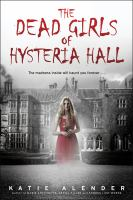 Cover of The Dead Girls of Hysteria