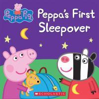 Peppa's first sleepover.