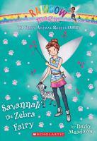 Savannah, the Zebra Fairy
