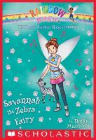Savannah the Zebra Fairy
