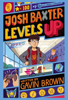 Josh Baxter Levels Up(book-cover)