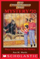 Mary Anne and the Zoo Mystery