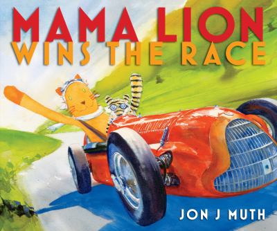 Cover image for Mama Lion Wins the Race