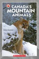 Canada's Mountain Animals