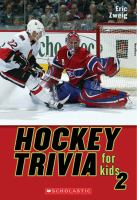Hockey Trivia For Kids 2