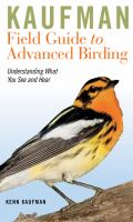Kaufman Field Guide to Advanced Birding