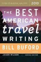 Best American Travel Writing 2010