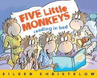 Five Little Monkeys Reading in Bed