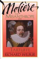 The Misanthrope ; and Tartuffe