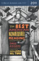 The Best American Nonrequired Reading 2011