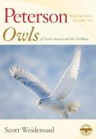 Owls of North America and the Caribbean