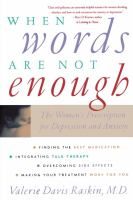 When Words Are Not Enough