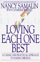 Loving Each One Best