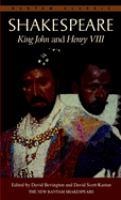 King John ; And, Henry VIII